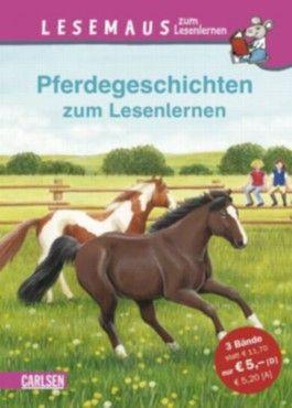 Lesemaus zum Lesenlernen Sammelbände, Band 7: Pferdegeschichten zum Lesenlernen