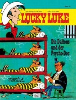 Lucky Luke 54 Die Daltons und der Psycho-Doc