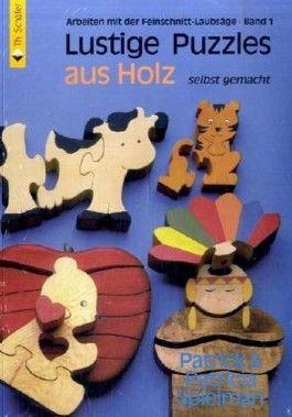 Lustige Puzzles aus Holz selbst gemacht
