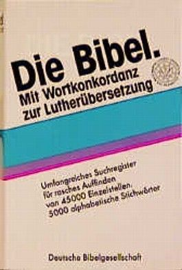 Lutherbibel Taschenausgabe ohne Apokryphen mit Konkordanz (Nr.1181)