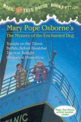 Magic Tree House Books 17-20