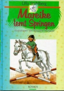 Mareike lernt Springen