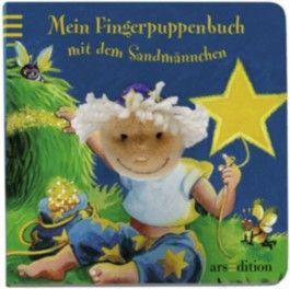 Mein Fingerpuppenbuch mit dem Sandmännchen