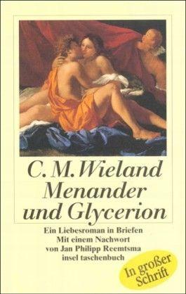 Menander und Glycerion, Großdruck