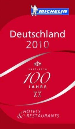 Michelin Red Guide Deutschland 2010