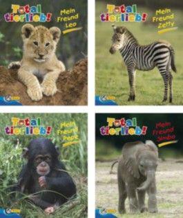 Mini-Bücher 24er-Display Total tierlieb! 9-12