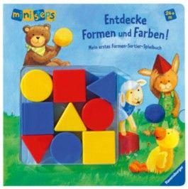 ministeps® Bücher: Entdecke Formen und Farben!