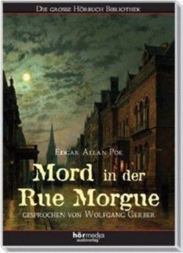 Mord in der Rue Morgue, 2 Audio-CDs