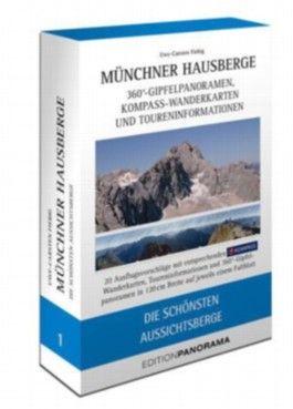 Münchner Hausberge Faltpanoramen