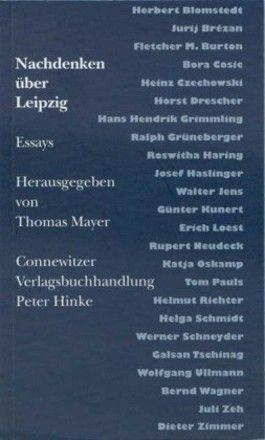 Nachdenken über Leipzig