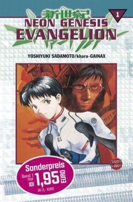 Neon Genesis Evangelion, Band 1: Angriff der Engel