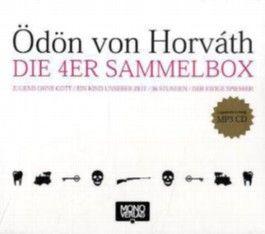 Ödön von Horváth - Die 4er Sammelbox