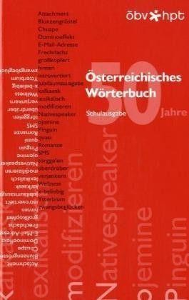 Österreichisches Wörterbuch, Schulausgabe