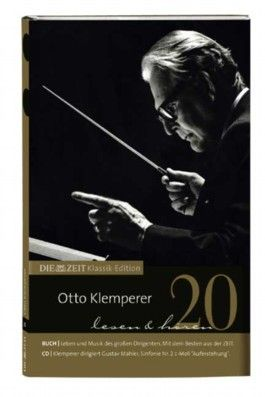 Otto Klemperer lesen & hören, Buch und Audio-CD