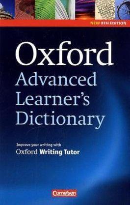 Oxford Advanced Learner's Dictionary - 8th Edition / B2-C2 - Wörterbuch