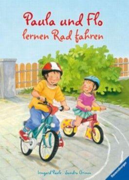 Paula und Flo lernen Rad fahren