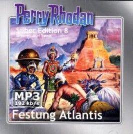 Perry Rhodan Silber Edition (MP3-CDs) 08 - Festung Atlantis