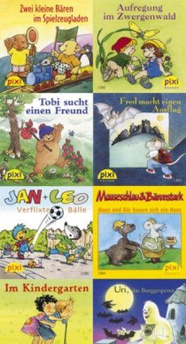 Pixi-Bücher / Pixi-Serie 155: Pixis kunterbunte Bücherkiste