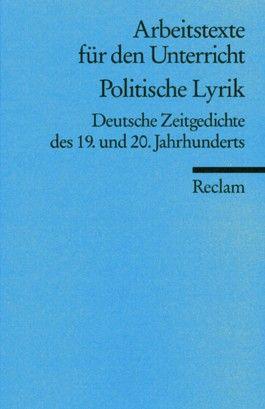 Politische Lyrik