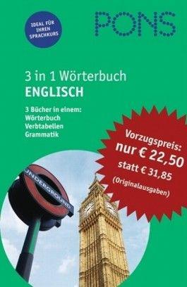 PONS 3 in 1 Wörterbuch Englisch