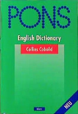 PONS Wörterbuch, Collins Cobuild English Dictionary