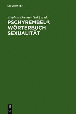 Pschyrembel Wörterbuch Sexualität