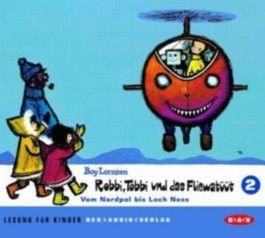 Robbi, Tobbi und das Fliewatüüt. Lesung für Kinder / Vom Nordpol bis Loch Ness