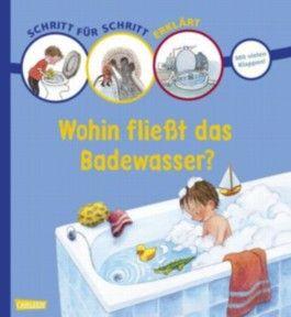 Schritt für Schritt erklärt: Wohin fließt das Badewasser?