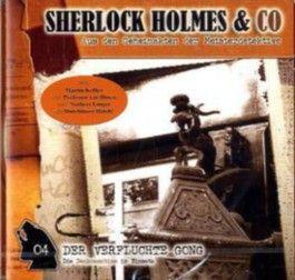 Sherlock Holmes & Co - Der verfluchte Gong, Audio-CD