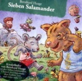 Sieben Salamander, 1 Audio-CD