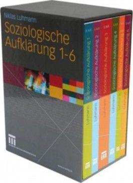 Soziologische Aufklärung, 6 Bde.