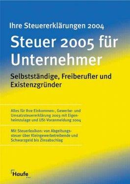 Steuer 2005 für Unternehmer