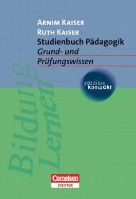 studium kompakt. Pädagogik / Studienbuch Pädagogik