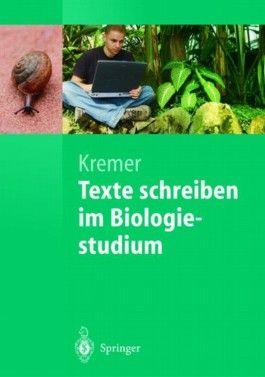 Texte schreiben im Biologiestudium