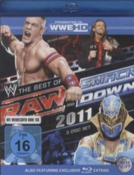 The Best of Raw and SmackDown 2011, 3 Blu-rays