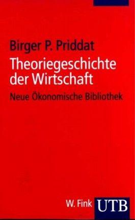 Theoriegeschichte der Wirtschaft