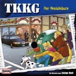 TKKG - Der Unsichtbare, 1 Audio-CD