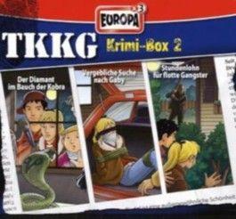 TKKG Krimi-Box 2, Folgen 115, 124 u. 131, 3 Audio-CDs