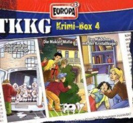 TKKG Krimi Box, 3 Audio-CDs. Tl.4