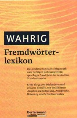Wahrig Fremdwörterlexikon