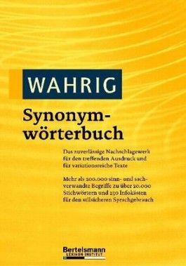 Wahrig Synonymwörterbuch