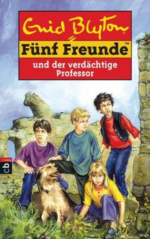 fünf freunde und der verdächtige professor von enid blyton